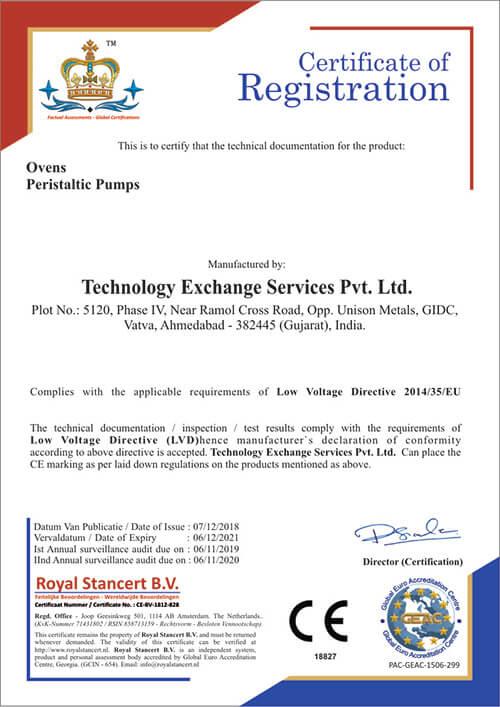 Technology Exchange Services Pvt Ltd CE (LVD)