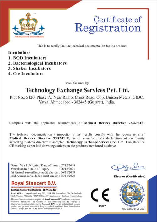 Technology Exchange Services Pvt Ltd CE (MDD)