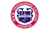 M.B.M. Engineering College, Jodhpur, Rajasthan