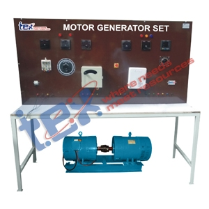 Motor Generator Set 5 HP (DC to AC.) with Control Panel