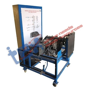 MPFI Petrol Engine Fault Simulation Board