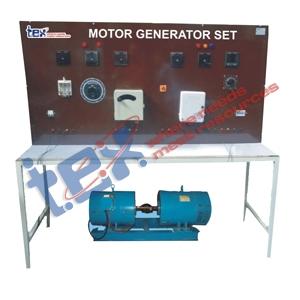 MG SET with Control Panel