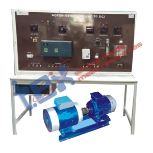 DC Compound Generator with Control Panel