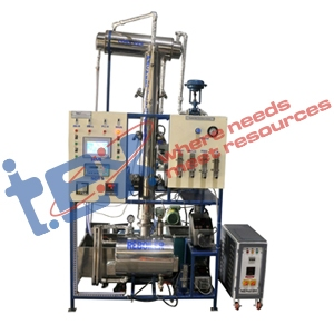 Packed Bed Continuous Distillation Column
