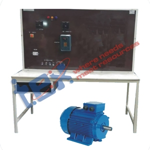 AC Phase Wound Slip Ring Motor with Control Panel