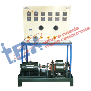 Electrical Machine Trainer with Control Panel