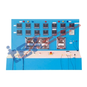 Relay (Set of 4,Cut out Relays, Reverse current, Over current, Under voltage, a. 16A, 440V b. 16A, 440V c. 16A, 440V d. 360V-440V)