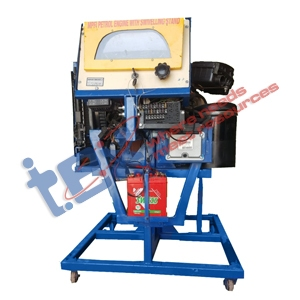 Petrol Engine Swiveling Stand