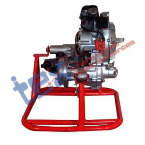 Two Stroke Petrol Engine Cut Section & Working Model
