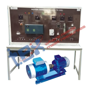 Motor Generator Set 7 HP (DC to AC.) with Control Panel