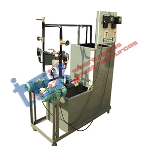 Series & Parallel Centrifugal Pump Test Rig.