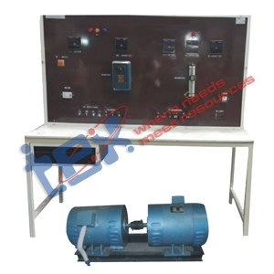 DC Shunt Generator with Control Panel