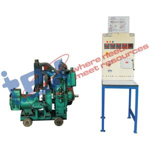 Diesel Generator Set with Control Panel