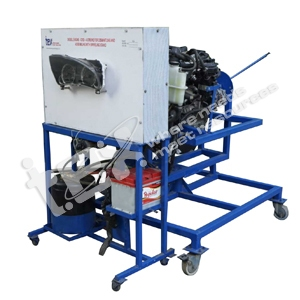 Diesel Engine CRDI 4 Stroke for Dismantling and Assembling With Swiveling Stand