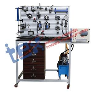 PLC Based Hydraulic Trainer