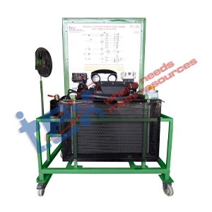 Working Condition of MPFI Petrol Engine Fault Simulation Board