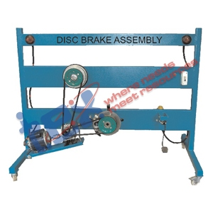 Disc Brake With Calliper Assembly